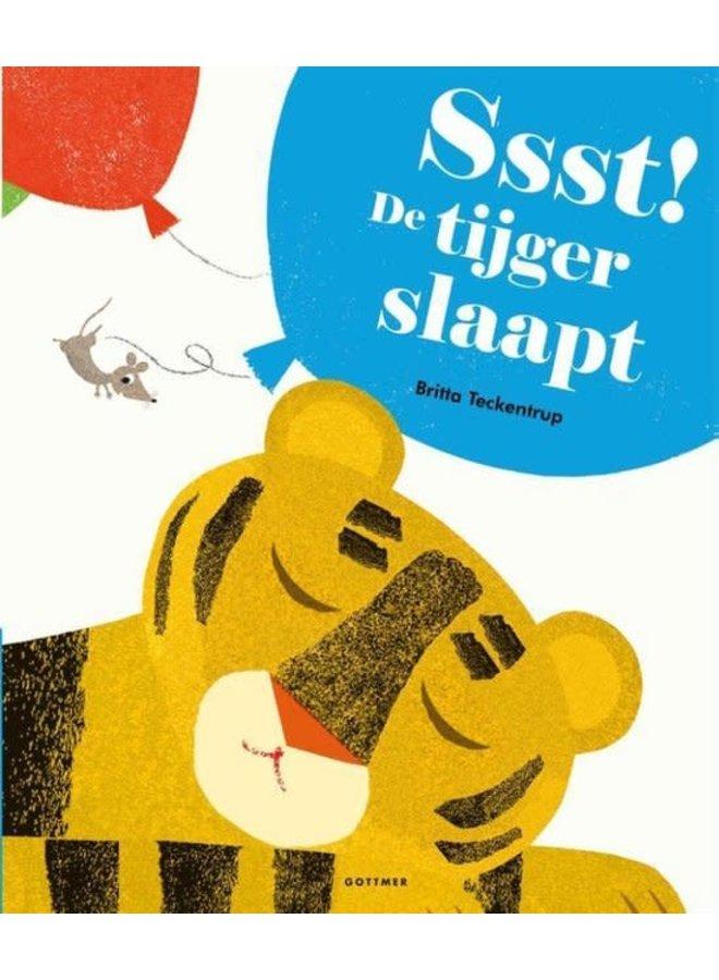 Ssst. De tijger slaapt