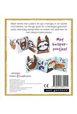 Wee Gallery Wee Gallery, stoffen knuffelboekje Luiaard