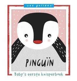 Wee Gallery Wee Gallery, stoffen knisperboekje Pinguïn
