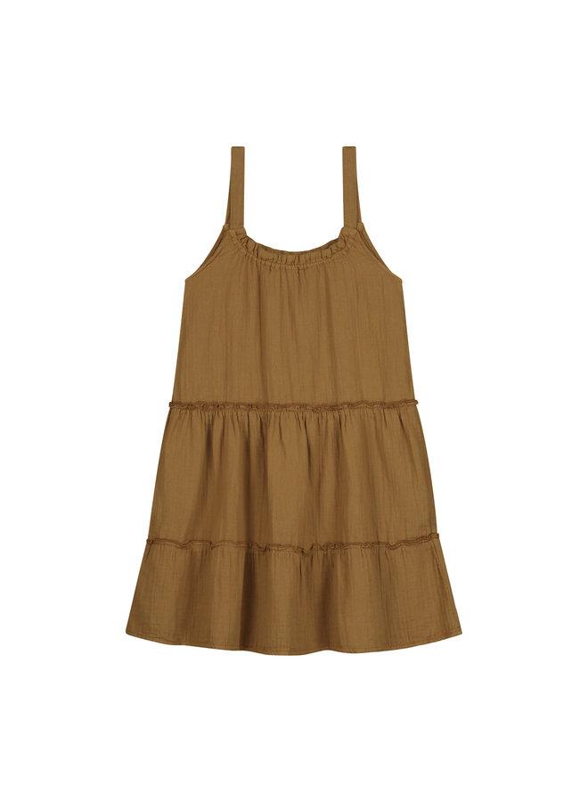 June dress Sandstone