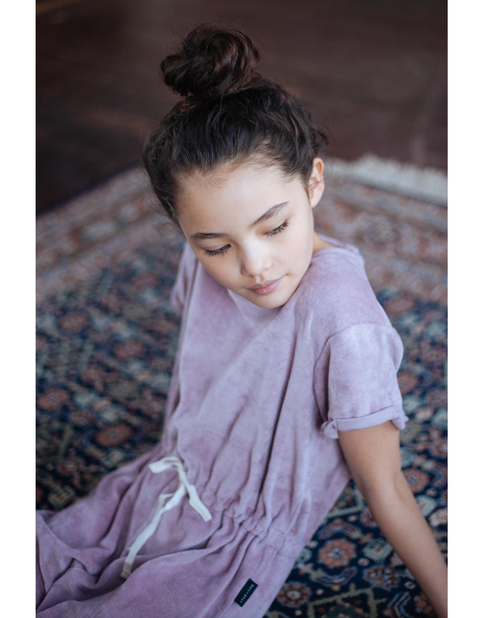 Daily Brat Molly towel jumpsuit Ocean Lilac