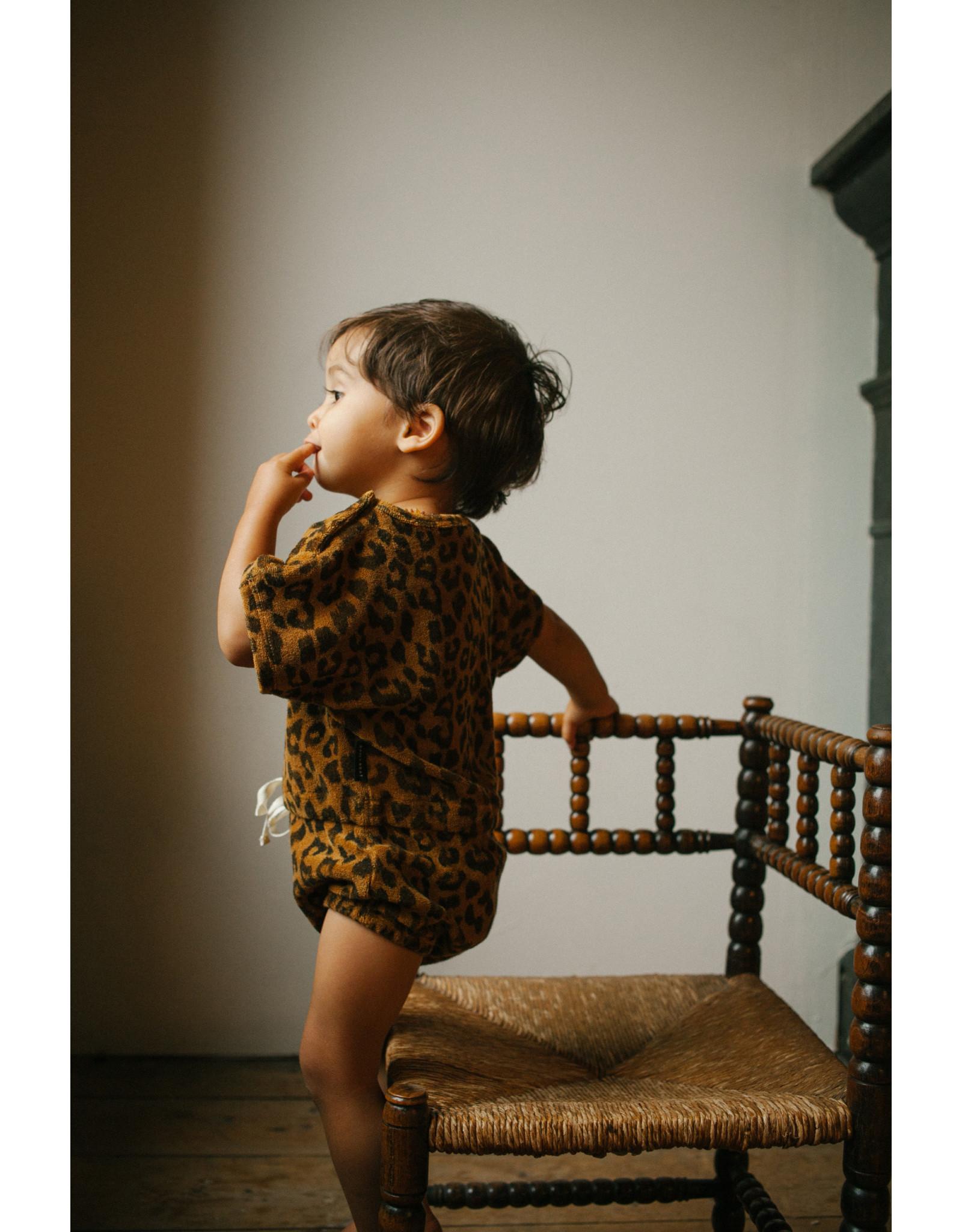 Daily Brat Joe Leopard Suit Sandstone