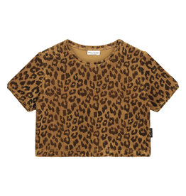 Daily Brat Leopard towel T-shirt Sandstone