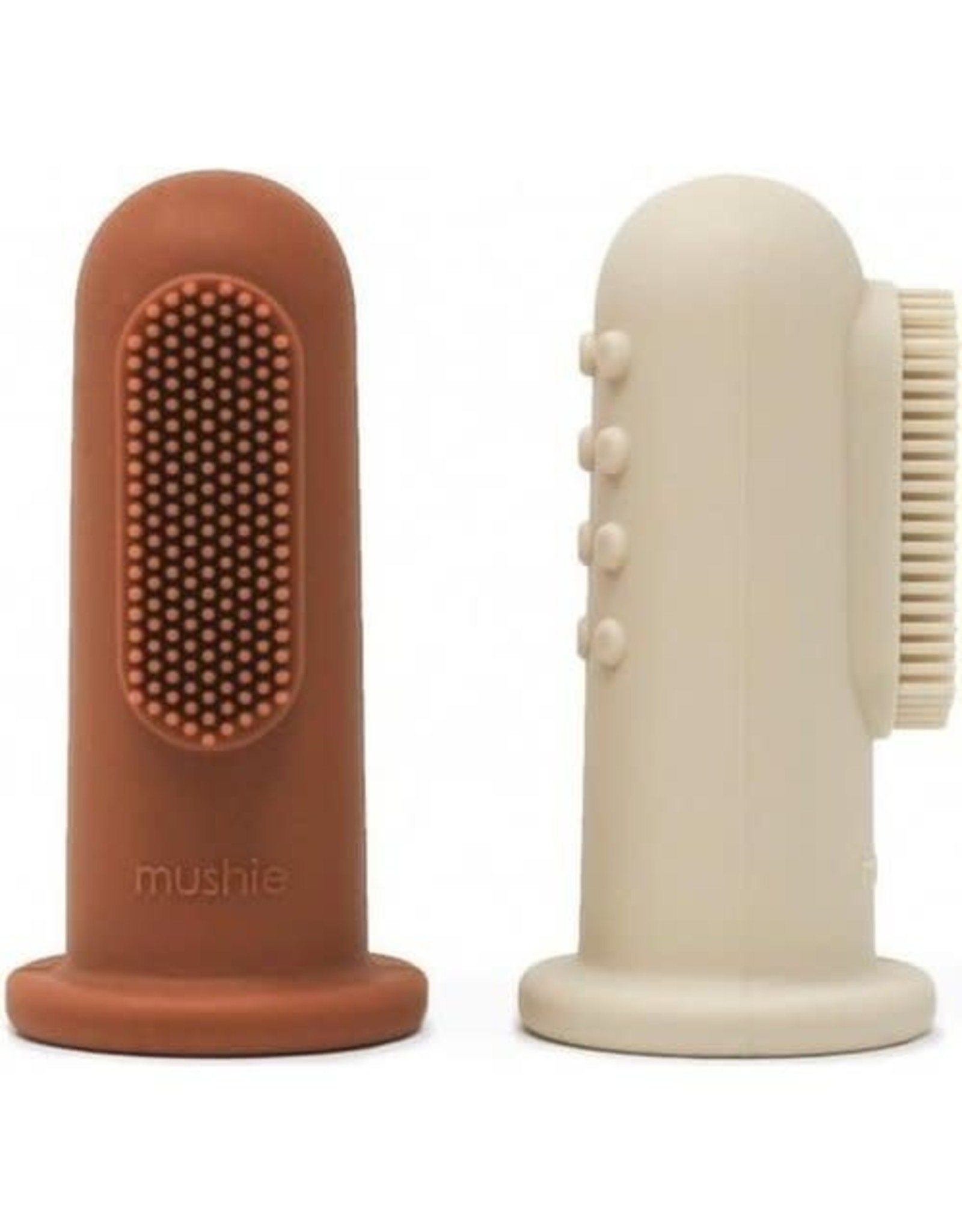 Mushie Mushie tandenborstel Sand - Clay