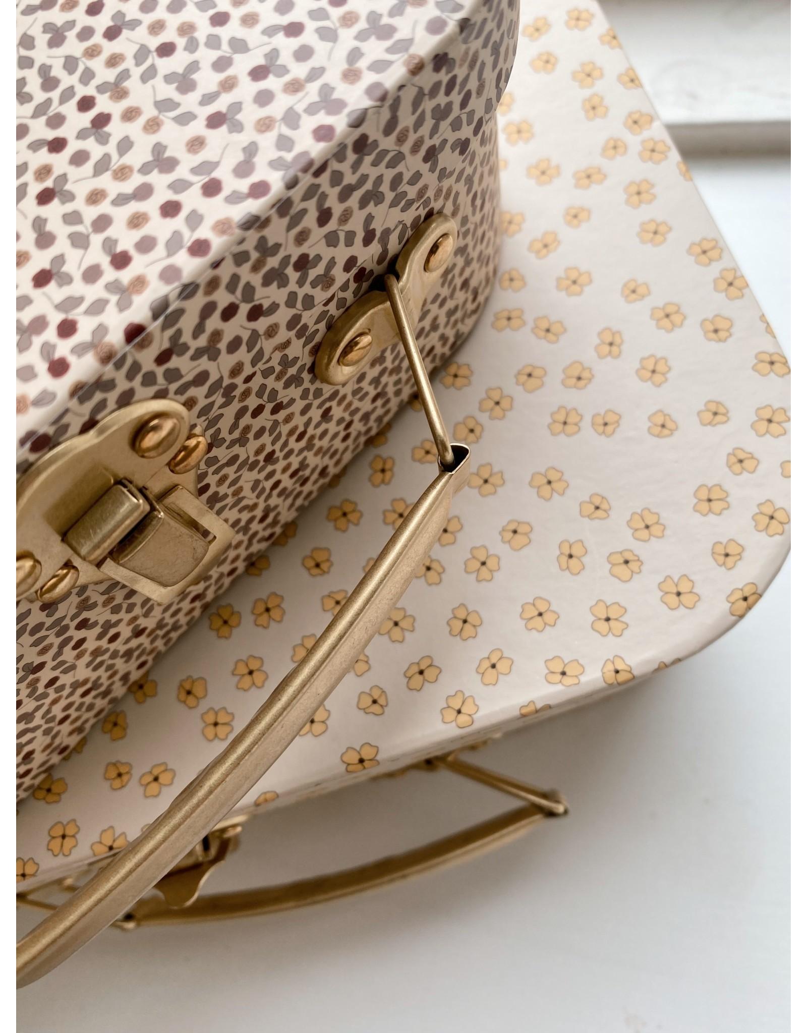 Konges Sløjd koffertje Buttercup Yellow/Rosarie