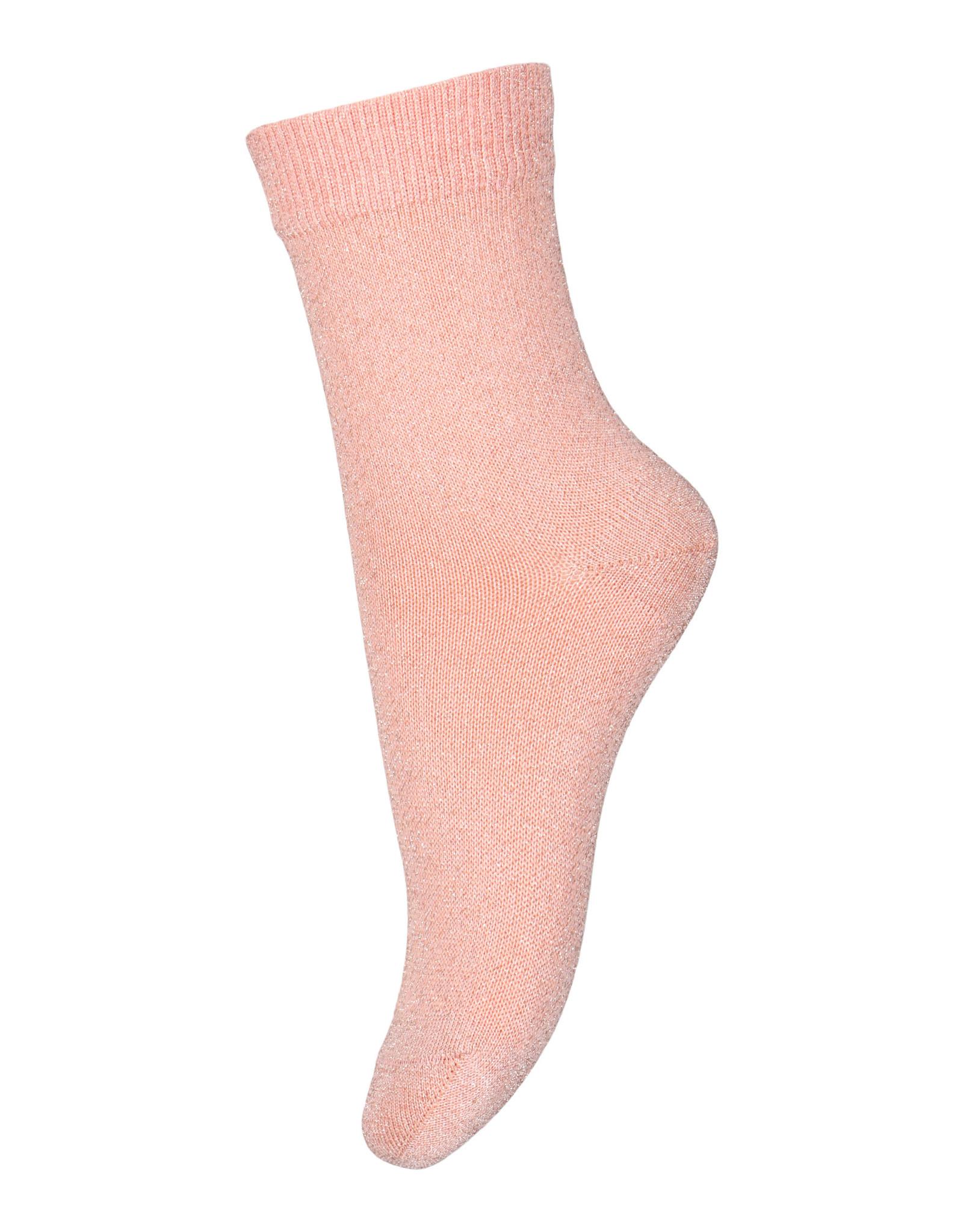 MP Denmark MP Denmark Lulu glitter socks 4272 Rose