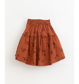 Play Up Woven cotton skirt   Botany