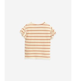 Play Up Organic cotton and linen T-shirt | Botany
