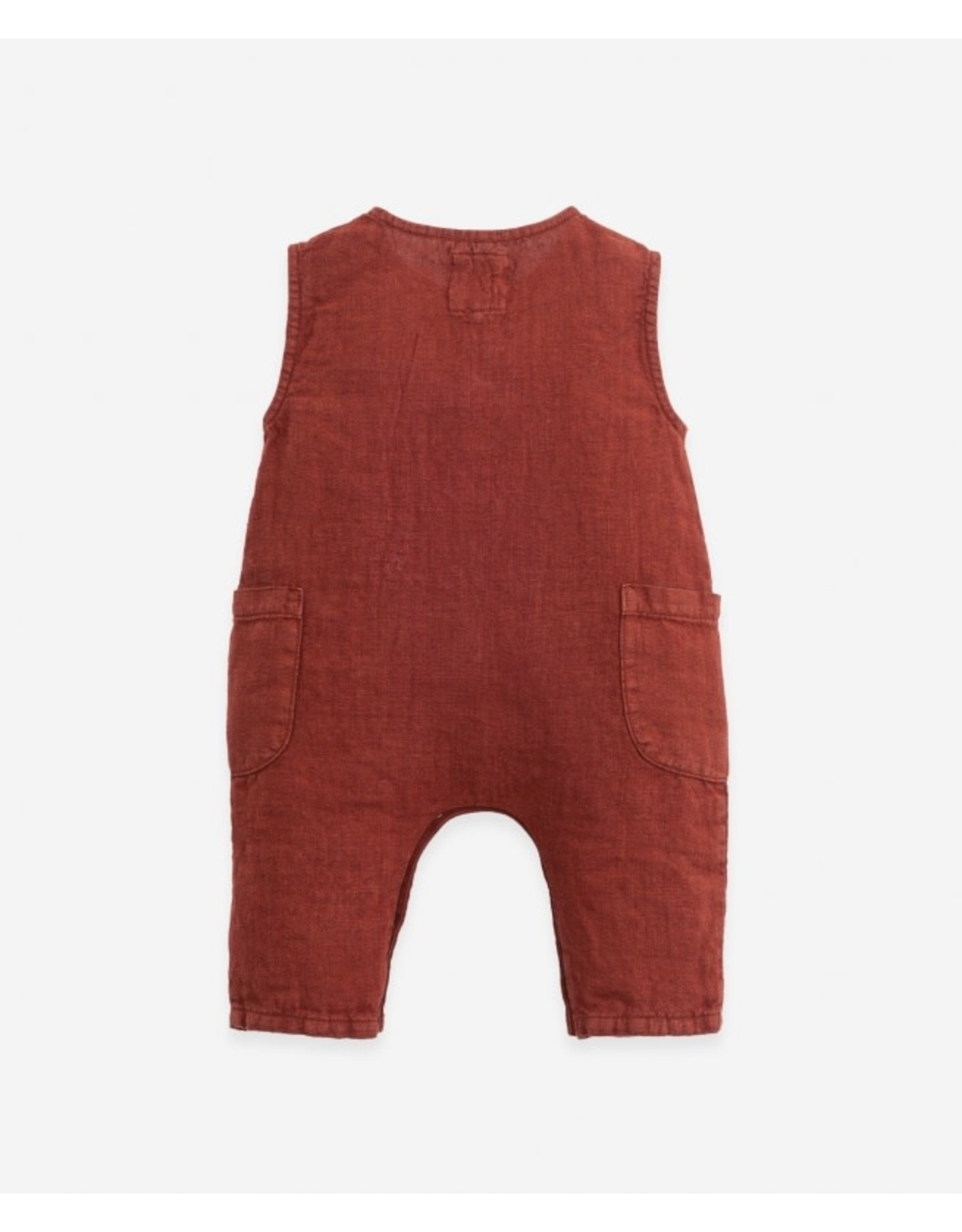 Play Up Linen jumpsuit   Botany