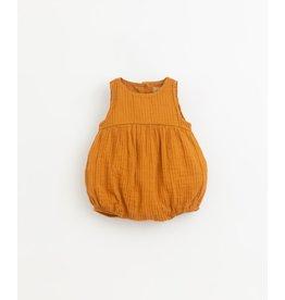 Play Up Short cloth jumpsuit | Hazel
