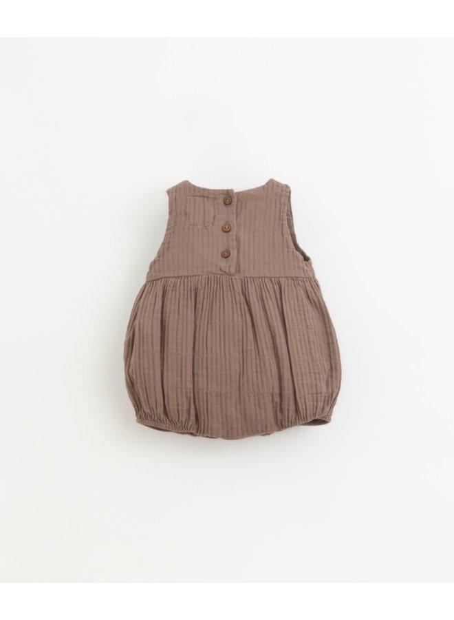 Short cloth jumpsuit | Pinha