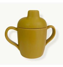 Konges Sløjd Sippy Cup mustard (1 pack)