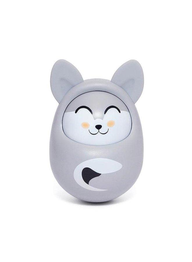 Roly Poly fox cool grey tuimelaar