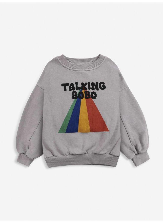Talking Bobo Rainbow sweatshirt