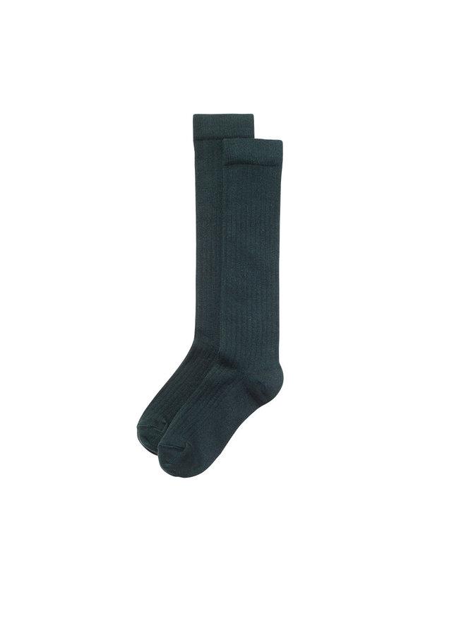 Knee Socks Dark Emerald