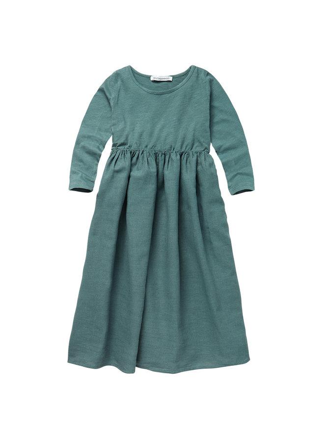 Linen Dress Sea Grass