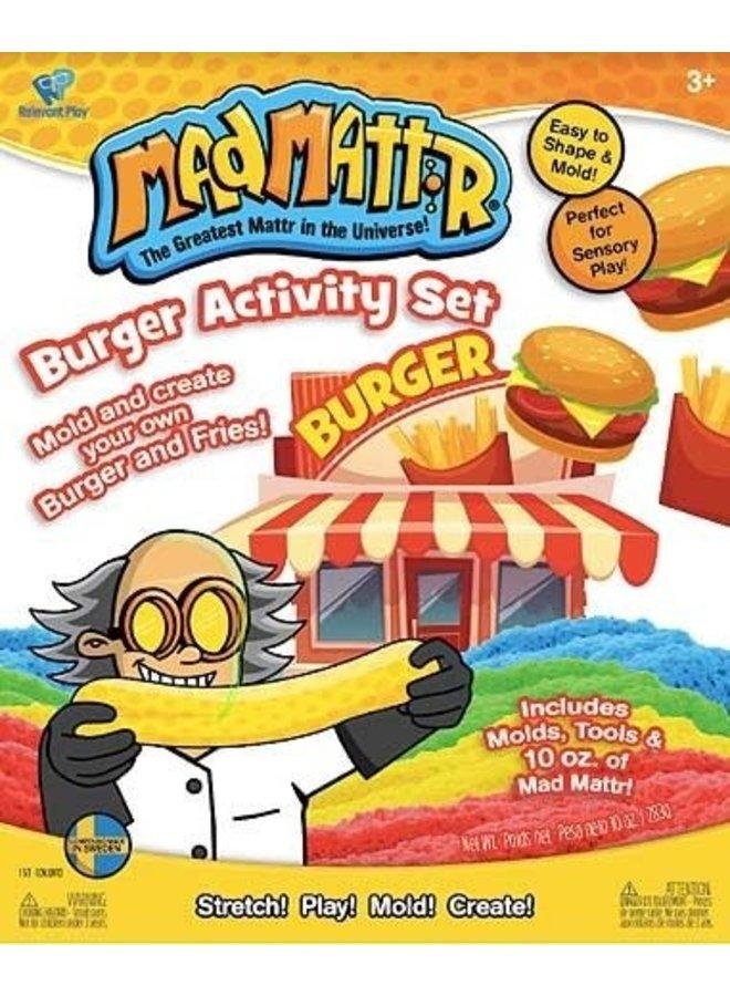 Madmattr Burger Stand Activity Set