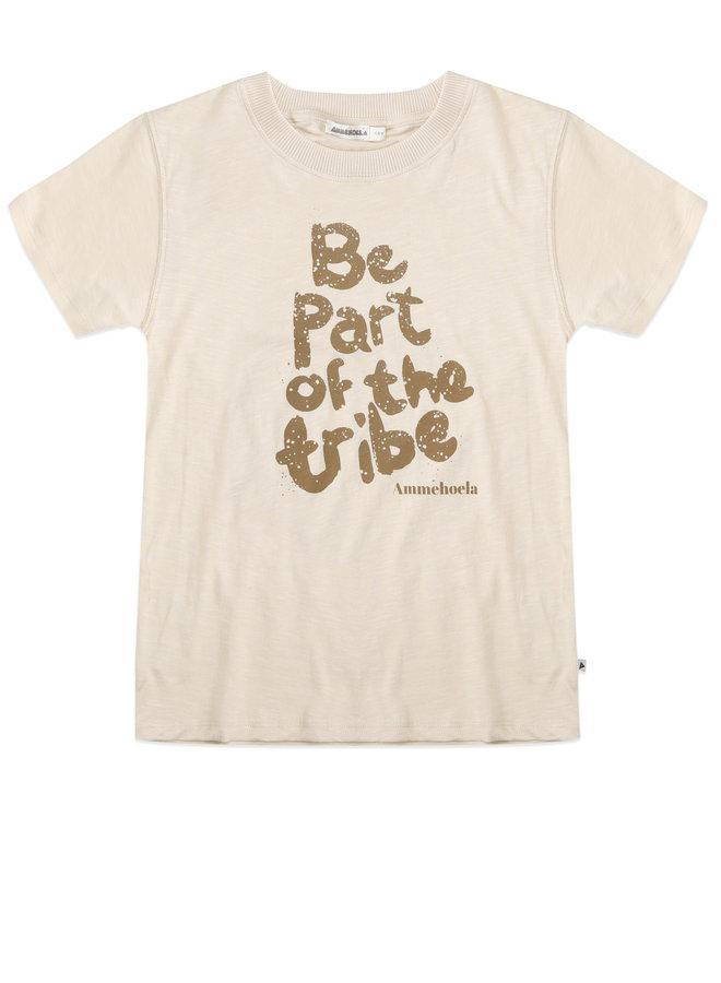 AM Zoe t-shirt Pebble