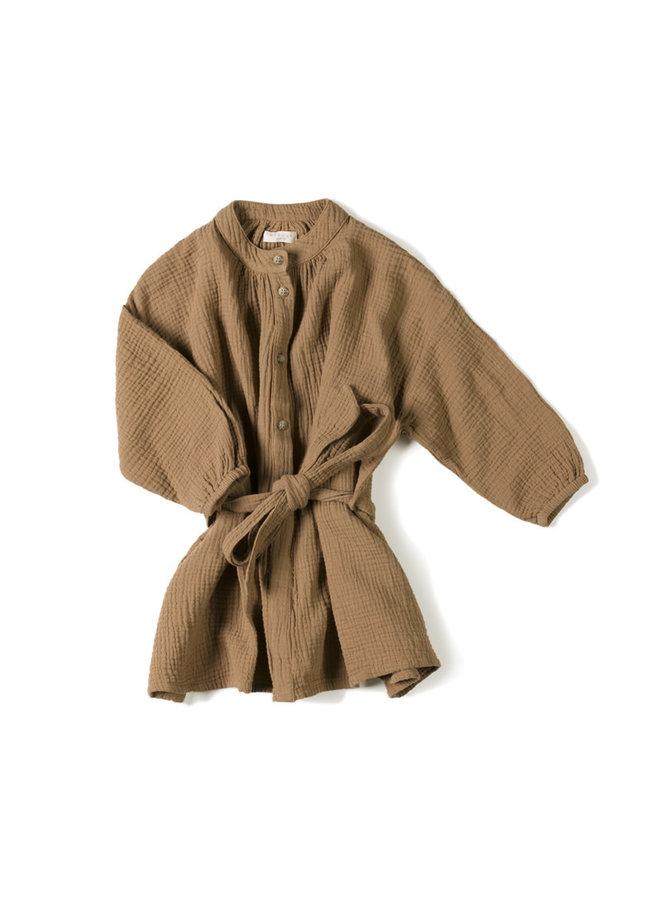 Cord dress Toffee