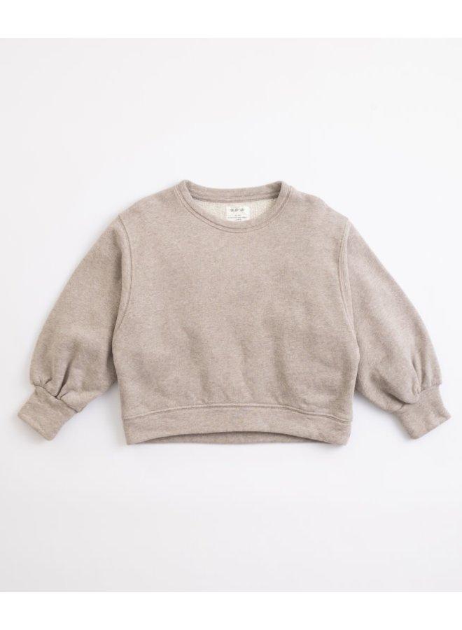 Fleece sweater simplicity