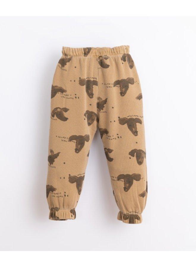 Printed Fleece Trousers dog