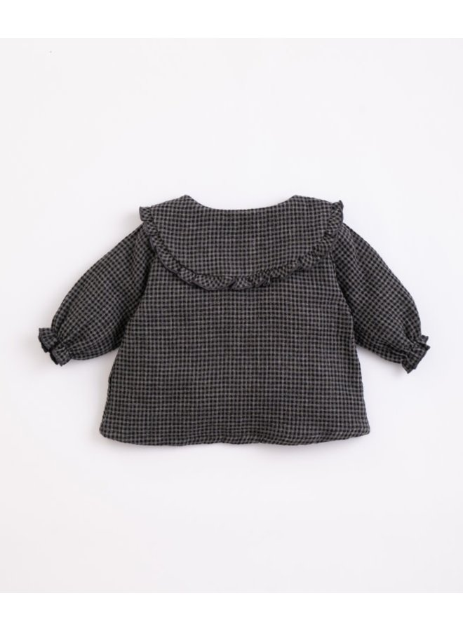 Vichy Woven Tunic