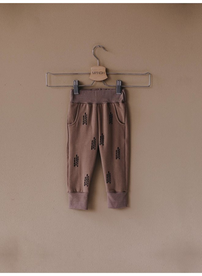 Jogger bamboo taupe