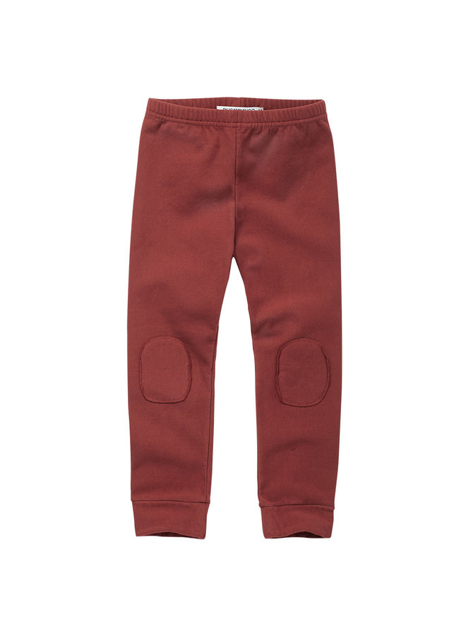 Winter Legging Brick Red