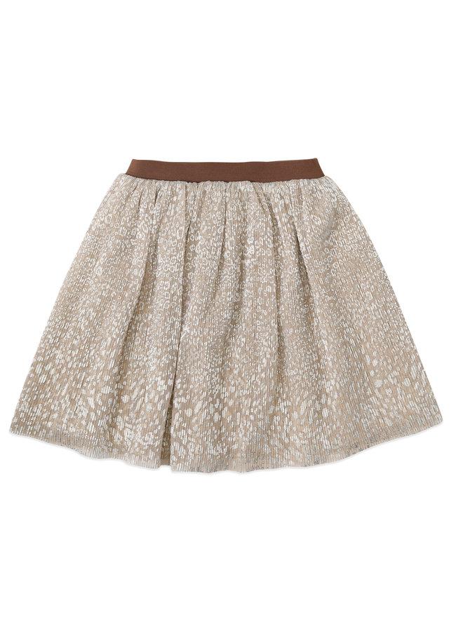 AM Dolly skirt Metallic-Leopard