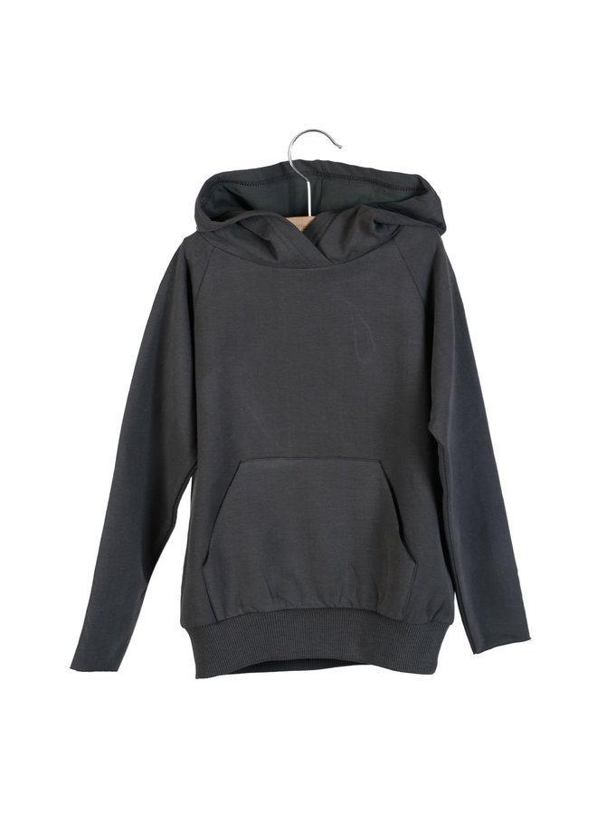 Hooded Sweater Joe Pirate Black