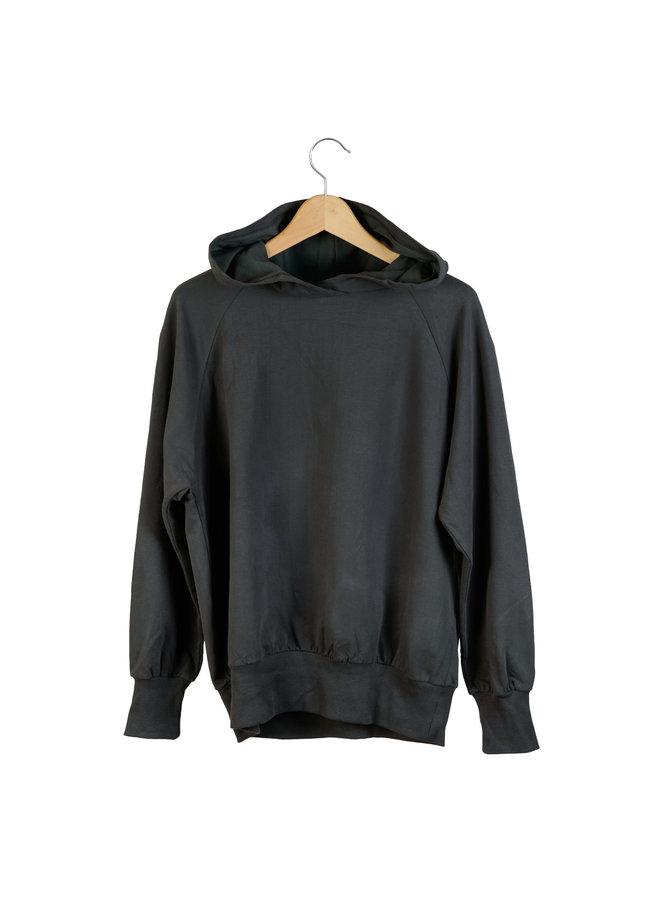 Adult Hooded Sweater Alex Pirate Black
