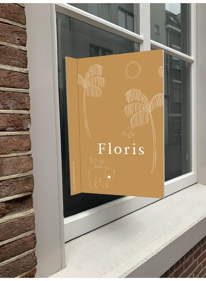 Geboortebord Floris
