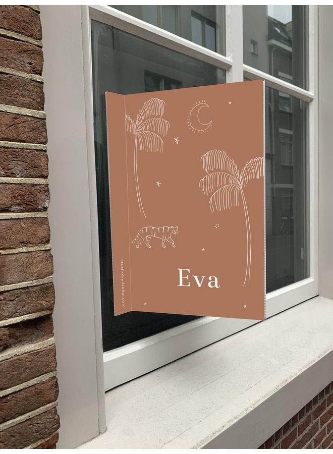 Geboortebord Eva