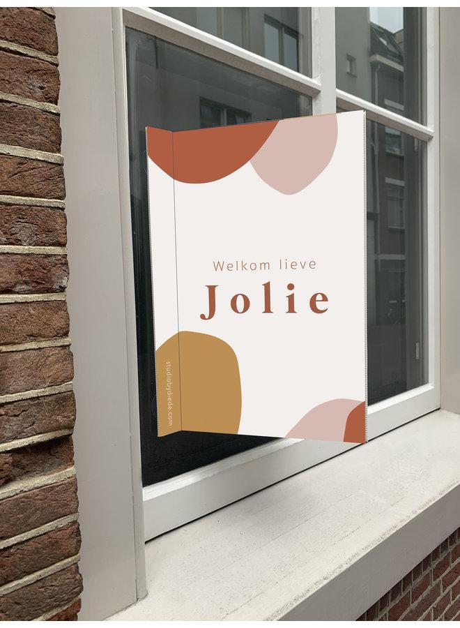 Geboortebord Jolie
