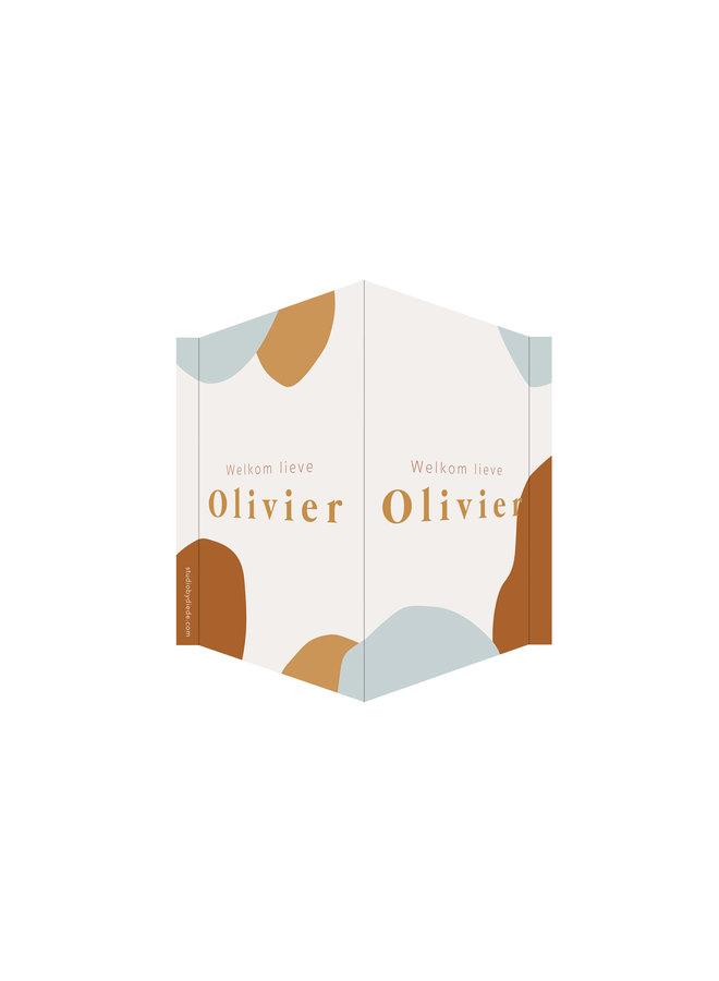 Geboortebord Olivier