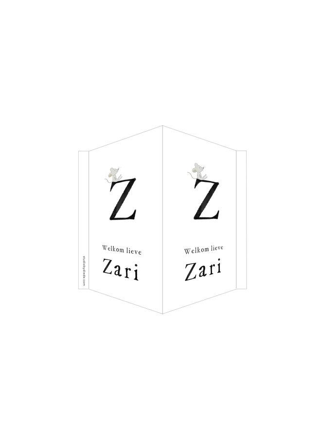 Geboortebord Z