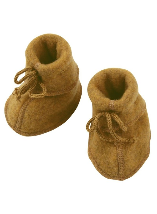 Babybooties wolfleece safran