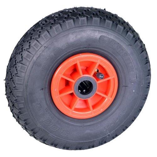 De Landwinkel Steekwagenwiel PVC, 25 mm.