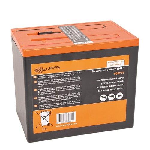 Gallagher Powerpack batterij 9V /160 Ah