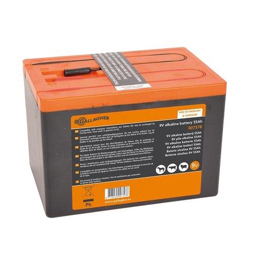 Gallagher Powerpack batterij 9V /55 Ah