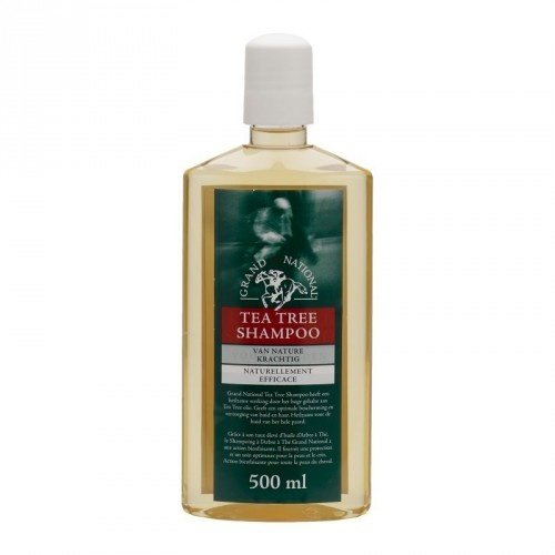 Grand National Tea Tree Shampoo 500ml.