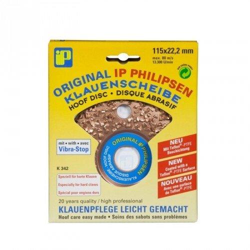 Philipsen Hoefslijpschijf 115mm. - Enkel