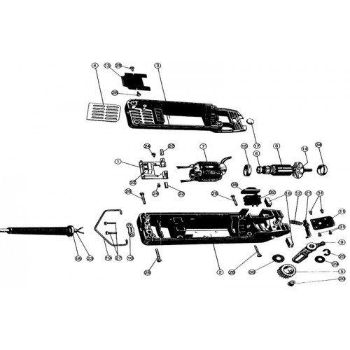 Econom Ophangbeugel GT104/227