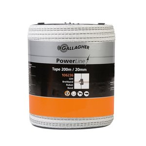 Gallagher PowerLine lint 20mm.