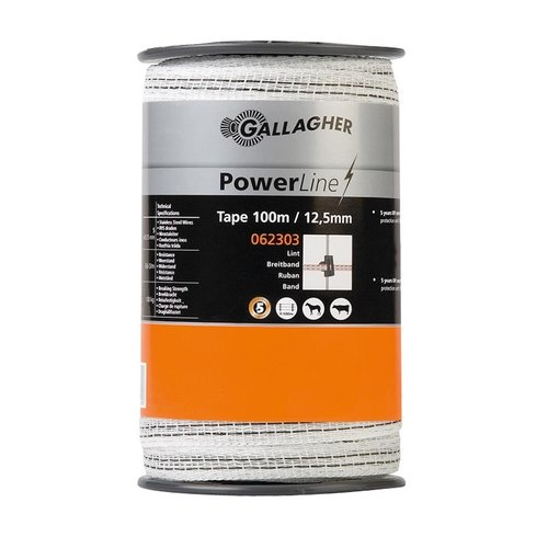 Gallagher PowerLine lint 12,5mm.