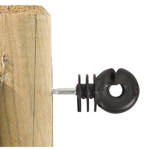 Gallagher Schroefisolator BS hout - Meerdere hoeveelheden