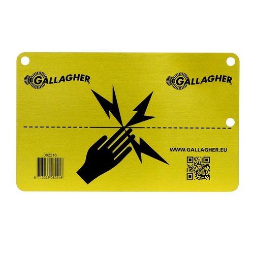 Gallagher Waarschuwingsbordje EU