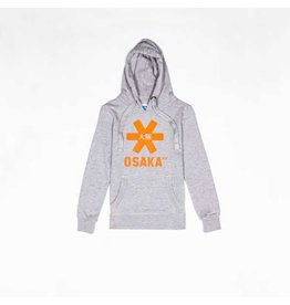 Osaka Deshi Hoodie Orange Star Grey Melange