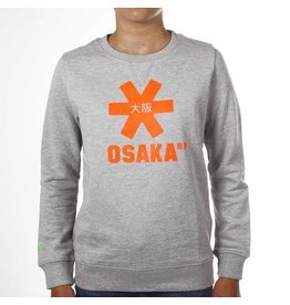 Osaka Deshi Sweater Orange Star Grey Melange