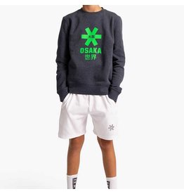 Osaka Deshi Sweater Green Star Navy Melange